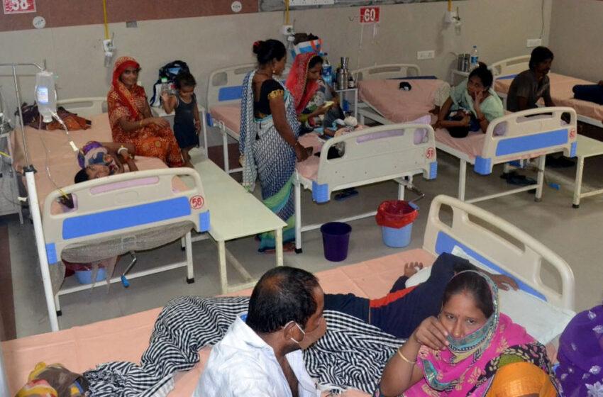Dengue outbreak in Firozabad, found in 77 more children#firozabadnews