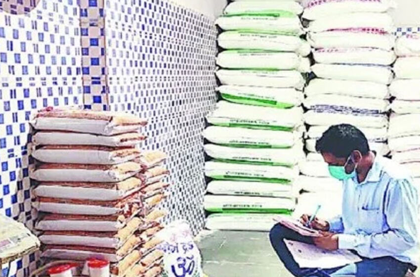 Flour was also found fake after oil and refined in Agra#agranews