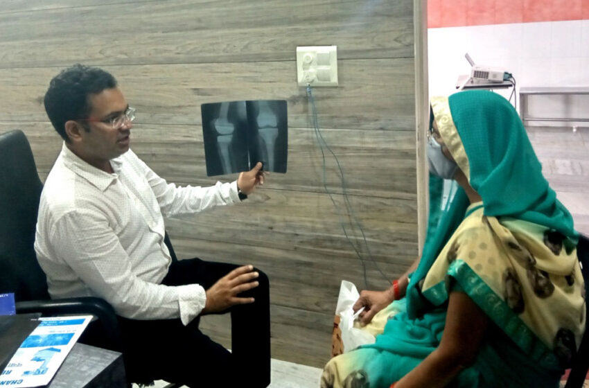 Free BMD & Consultaion camp at Chandra Orthopaedic Centre, Agra