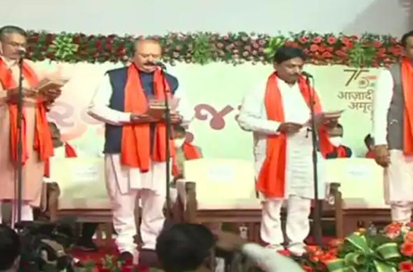 All ministers of Rupani government out