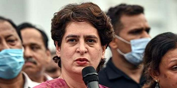 Priyanka Gandhi's rally proposed on October 7 in Agra postponed#agranews