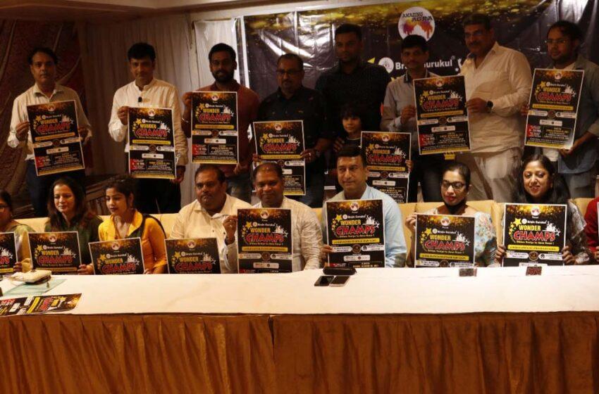 Brain Gurukul Wonder Champs video series will show the talent of the children of Agra.