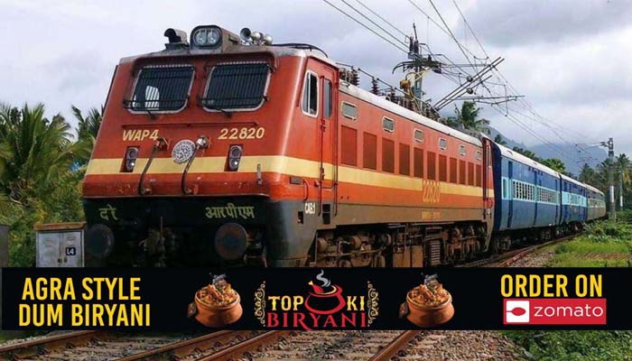 Boys making videos on the track pelted stones on the train in Agra, three detained#agranews